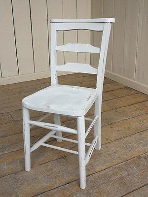 Old Antique Painted Church Chairs - Kitchen / Dining Room - Chapel Chairs