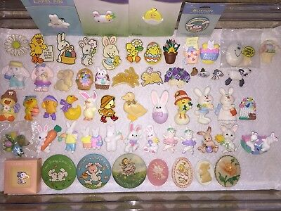 Vintage Hallmark Pin Lot of Spring Easter Lapel Pins Brooches CHOICE