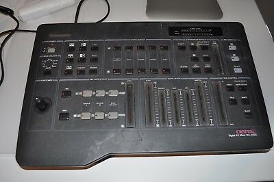Panasonic Digital Av Mixer Wj-Ave5 Video And Mixing Desk