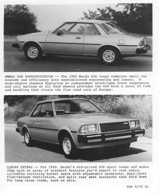 1980 Mazda 626 Sport Coupe ORIGINAL Factory Photo oua1110