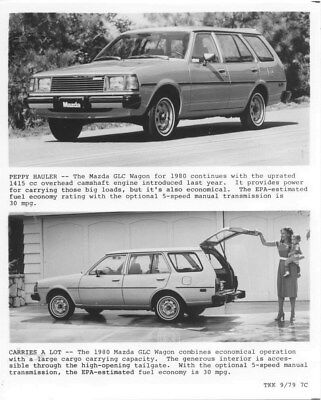1980 Mazda GLC Wagon ORIGINAL Factory Photo oua1116