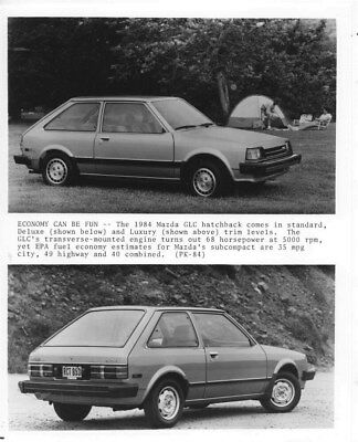 1984 Mazda GLC Hatchback ORIGINAL Factory Photo oua1193