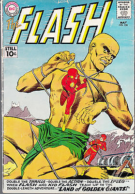 Flash #120 1961 Dc ''flash And Kid Flash Team-Up-1St Time'' ..vg