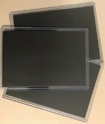 """5 Semi-Rigid Magnetic Photo Protector Pocket Sleeves 8"""" x 10"""" Made in the USA"""