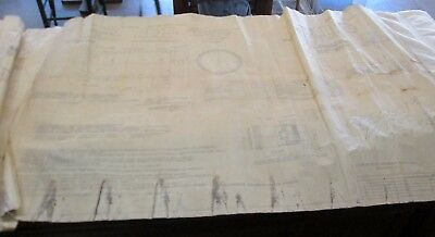 Original Pencil Indian Motorcycle Co Shell, Smoke 57MM M308A1  Blueprint 2-5-51