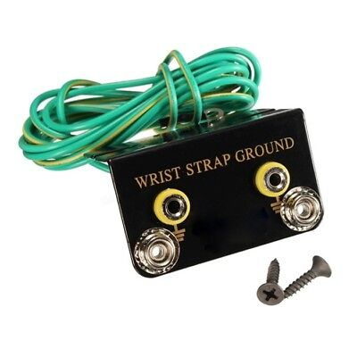 ESD Anti Static Wrist Strap Socket Plug Ground 1.9m