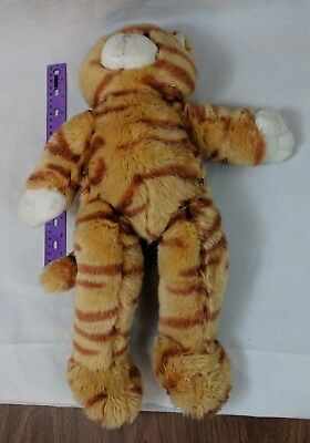 "Build A Bear Workshop Orange Tabby Cat Standing Plush 15"" Kitty, Kitten"