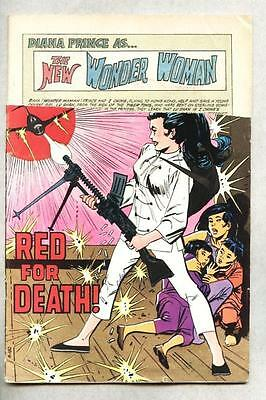 Wonder Woman #189-1970 stripped Mike Sekowsky Dr Cyber