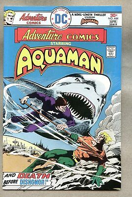 Adventure Comics #444-1976 fn+ Aquaman Jim Aparo