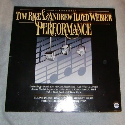 Tim Rice &  Andrew LLoyd Webber - Performance (Musicalmelodien)