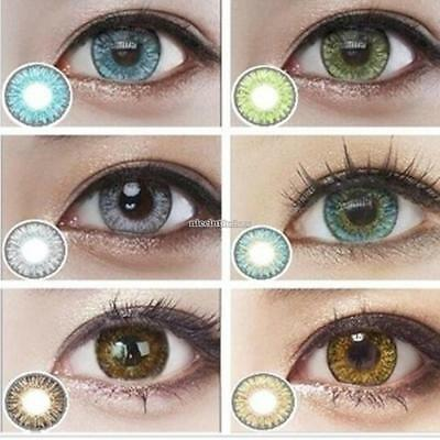 Lentilles de couleur - 1 an - contact lenses coloured - lens colored IS02