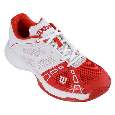 Wilson Rush Pro Junior 2 Tennisschuhe Kinder Rot Weiß