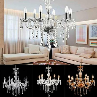 3 types modern 6 lights crystal chandelier droplets ceiling pendant 3 types modern 6 lights crystal chandelier droplets ceiling pendant light lamp mozeypictures Choice Image
