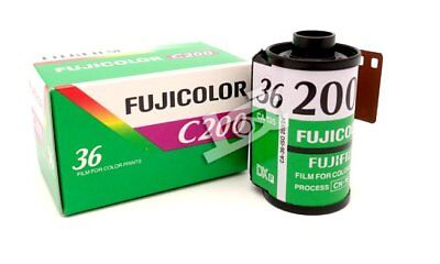 5 rolls Fuji Fujifilm FUJICOLOR C200 C 200 Color Film 135 35mm New 2018 FREE SH