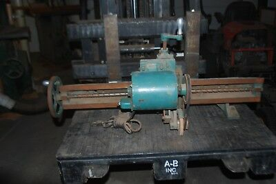 Oliver Planer Grinding Attachment, Fits 299 Straight Knife, Working!