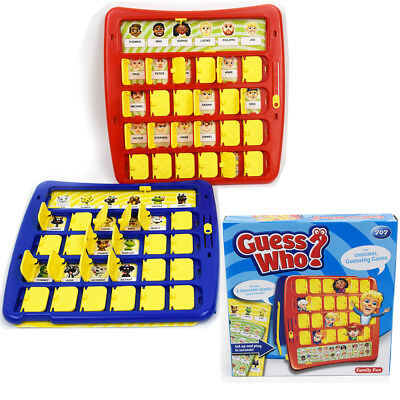Traditional Guess Who Family Fun Guessing Game Board Toy Adults Kids Party New