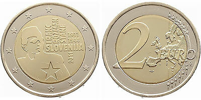 "Slovenia 2011: "" Franc Rozmann "" MINT CONDITION FROM ORIGINAL ROLL"