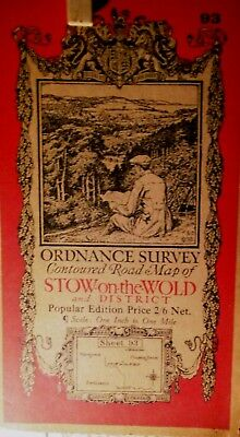 Stow On The Wold:gloucestershire Cotswolds,1919+ Ordnance Map-Ellis Martin Cover