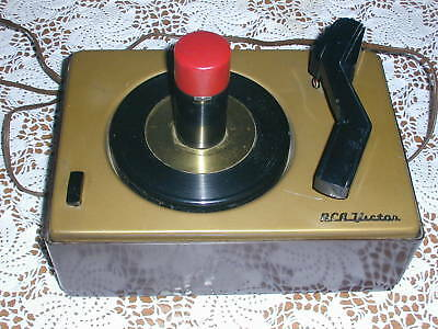 Vintage RCA Victor 45-J-2 phonograph 45 RPM record player  motor works 1950s