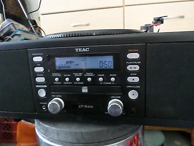 Teac LP-R400 CD Recorder System Multi Music Player Turntable Record AM/FM GS