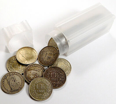1903 - 1967 Switzerland 1 Franc .835 Silver 25 Coin Lot
