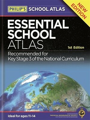 Philip's Essential School Atlas (World Atlas) (Paperback), 9781849074070