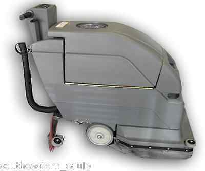 """New SES Corded 2001 Disk 20"""" Floor Scrubber w/Xtreme Recovery Squeegee System"""