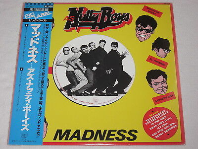 Lp Madness - As Nutty Boys Japan Original 1981 With Big Picture Label! Obi Mint!