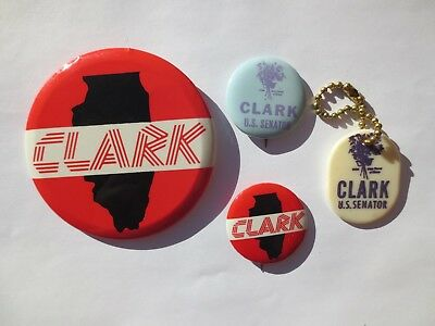 Collection of William G. Clark for US Senate in 1968 from Illinois