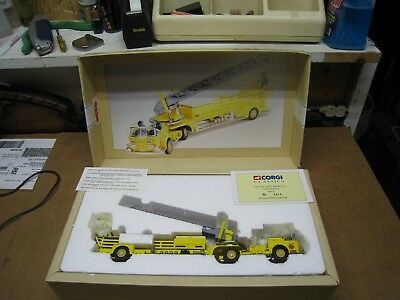 Corgi Classics Aerial Ladder Truck Jersey City #97398 Limited Edition