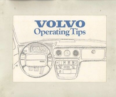 1973 Volvo 1800ES 145 144 164E Features Operating Tips Brochure wy9600