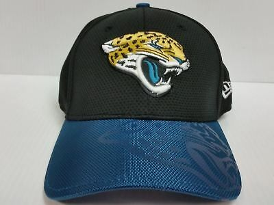 fca99a7170c Jacksonville Jaguars Cap New Era 39Thirty Stretch Fit On Field 2016 Sideline  Hat