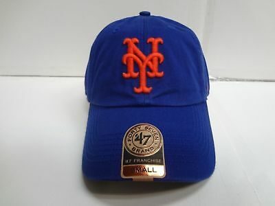 the latest d8990 be09b New York Mets Franchise  47 Brand Fitted Cap Blue Unstructured Hat