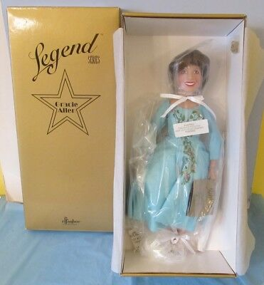 Never Removed From Box 1996 Effanbee Gracie Allen Doll V609