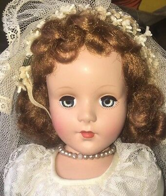 "17"" American Character Sweet Sue Early Doll All Original"