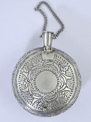 Antique MALAY SILVER BETEL CHELPA BOX 51.8g Indonesia/Malaysia Southeast Asian