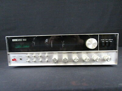 Vintage Harman-Kardon.  Receiver 930 Inc. Model 930 Made In Japan Tested (140)
