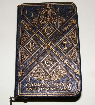 Coronation Of King George V1 And Queen Elizabeth Common Prayer And Hymns A&m 37