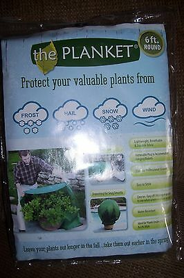 the Planket Frost Protection Plant Cover 6 ft. Round