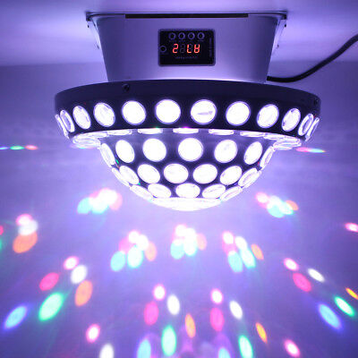 Mushroom Crystal Ball RGB LED Laser Projector Stage Light Crystal Party DJ Disco