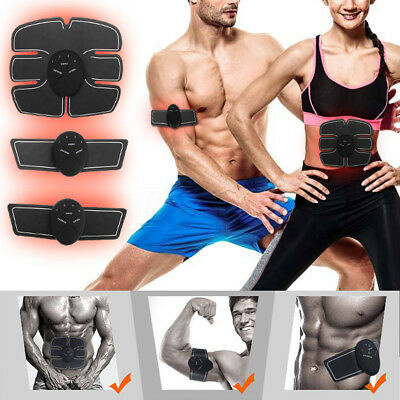 Abdominal Exercise Equipment Muscle Trainer Abs Ab Electric Stimulator Massage