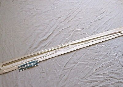 * NOS 1964 Chevy Chevelle Malibu SS Rear Trunk Deck Lid Lower Molding GM 3853436