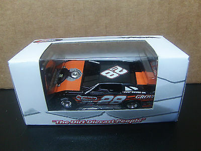 RARE Eddie Carrier Jr. 2014 Grover #28 Dirt Late Model 1/64 ADC