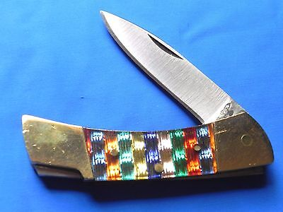 Vintage Frost (Parker) Pocket knife with Christmas Tree Handles