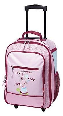 Sigikid Happy Friends Bagage Enfant, 40 Cm, 20,4 L, Ros