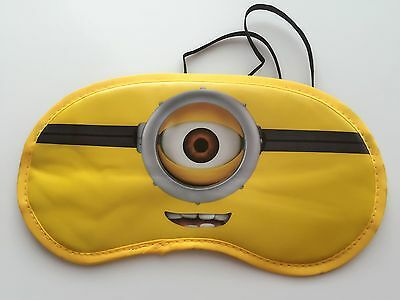 Girl Boy Kids Children Minions Rest Flight Travel Eye Mask Favor Christmas Gift