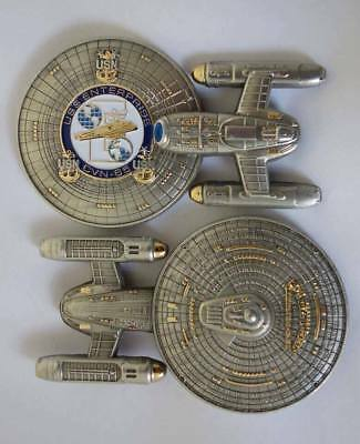 USS ENTERPRISE BIG E CVN-65 Trek CPO Chief Coin Starship NCC-1701C