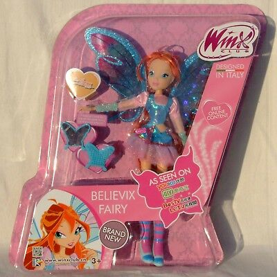 Winx Club Puppe Believix Fee Bloom Neu OVP