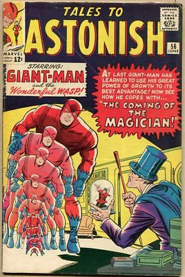 Tales To Astonish #56 - VG-