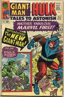 Tales To Astonish #65 - G/VG